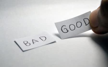 Equilibre entre pensées négatives et positives